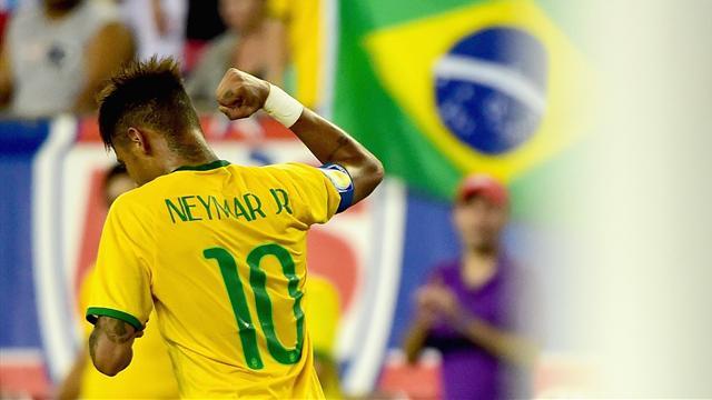 Neymar passeur, Marquinhos buteur, le Brésil vainqueur