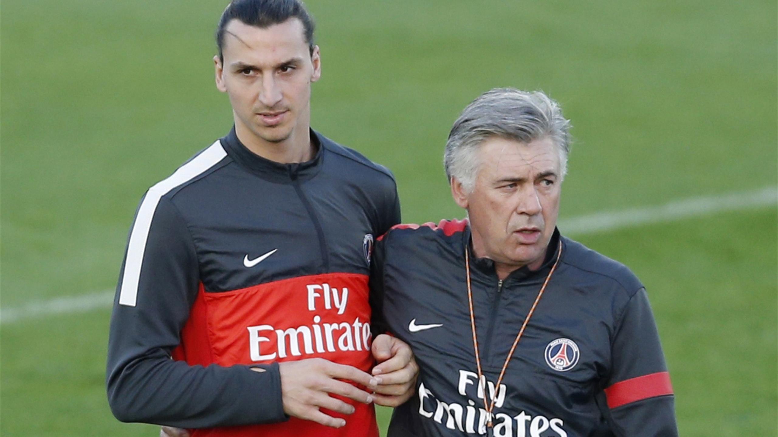 Quella volta in cui Carlo Ancelotti rischiò grosso con Ibrahimovic... -  Eurosport
