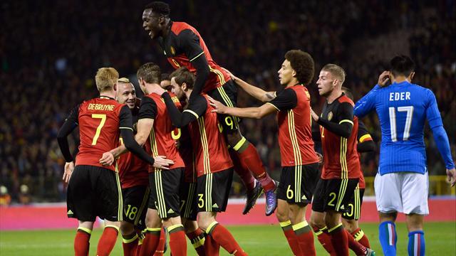 La Belgique inaugure en beauté son statut de numéro 1