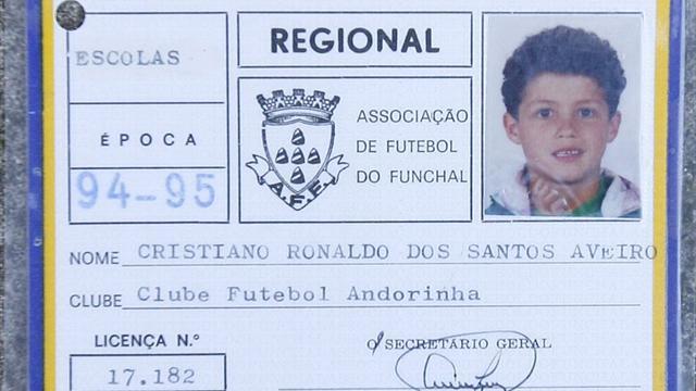 Первый клуб Роналду вывел из обращения седьмой номер