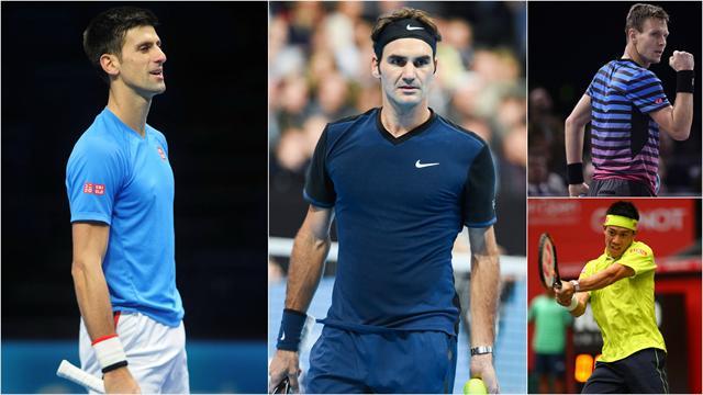 Sur le papier, Djokovic et Federer ont un boulevard devant eux