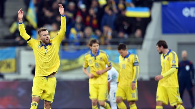 Avec deux buts d'avance, l'Ukraine a (normalement) pris une option