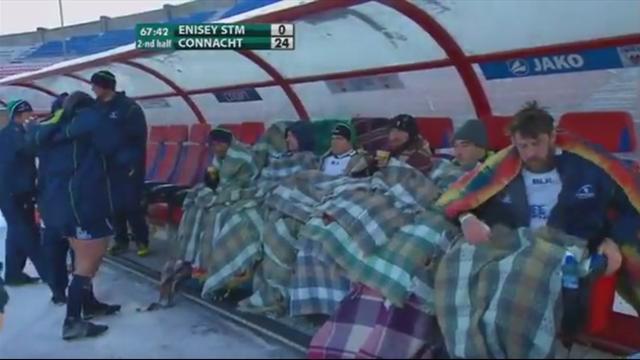 En déplacement en Russie, les Irlandais du Connacht ont découvert le froid sibérien