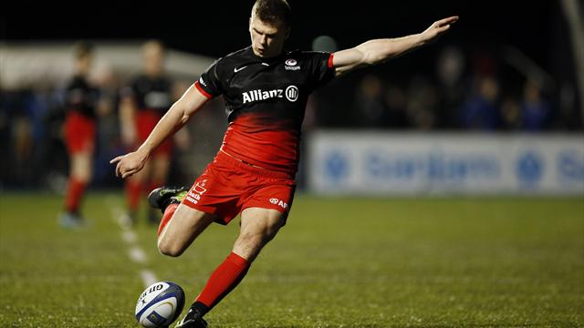 Saracens ease to victory over Toulouse