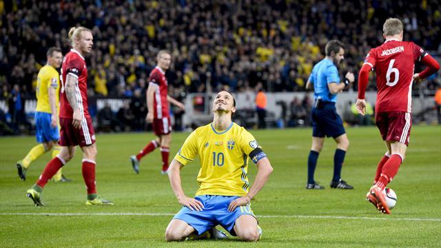 A dix minutes près, la Suède d'Ibrahimovic serait presque à l'abri