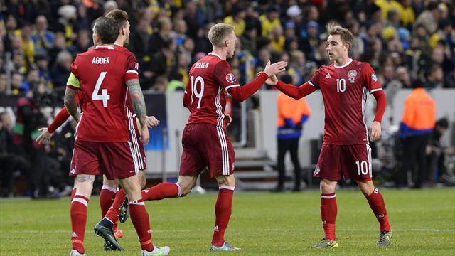 Дания преследование. Почему у шведов меньше шансов выйти на Евро