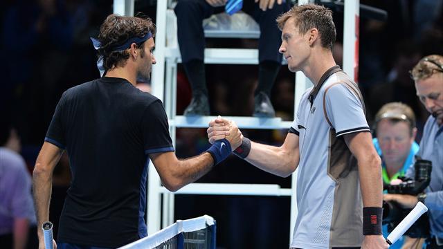 Avec Berdych, Federer connaît la chanson