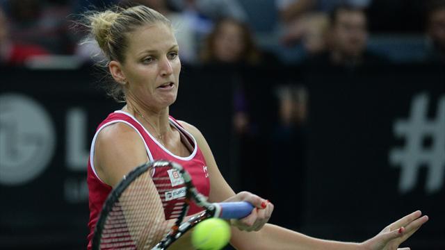 Pliskova offre un quatrième titre aux Tchèques