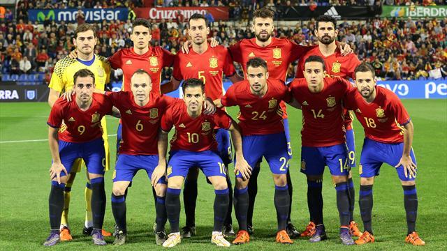 spanische nationalmannschaft