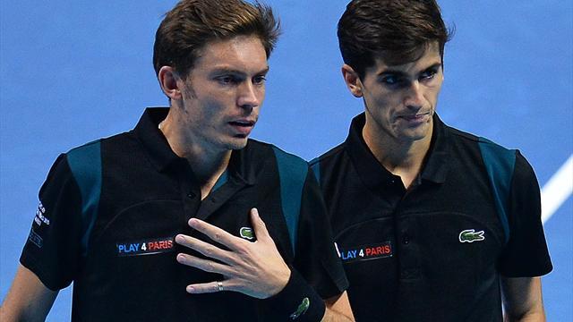 La paire Mahut/Herbert éliminée après sa défaite contre Lopez/Lopez