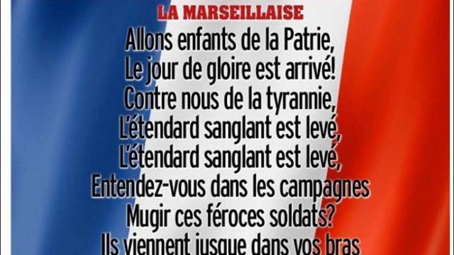 Marseillaise et drapeaux français : les très belles unes de la presse sportive anglaise