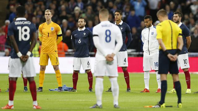La Marseillaise puis le silence : Wembley n'oubliera jamais