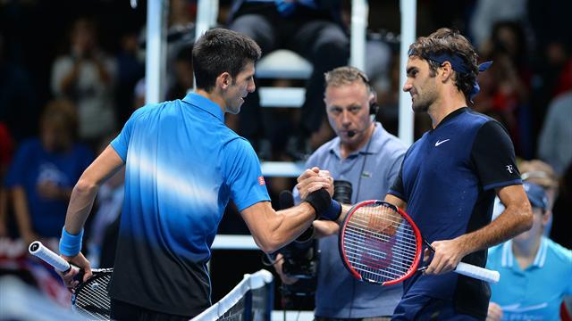 Sur cette finale de Masters, Federer joue bien plus gros que Djokovic
