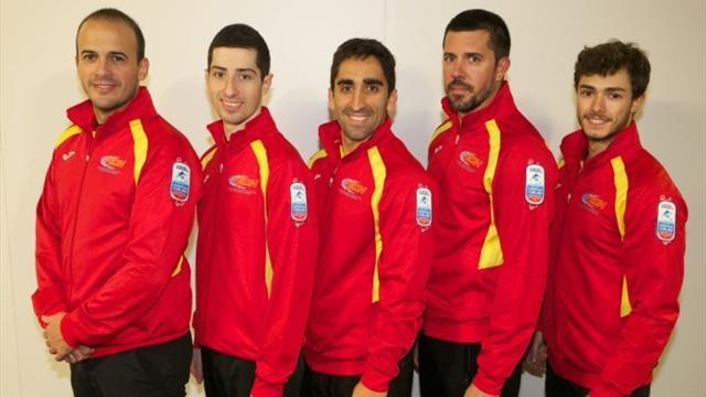 España pierde con Croacia en su debut en el Europeo