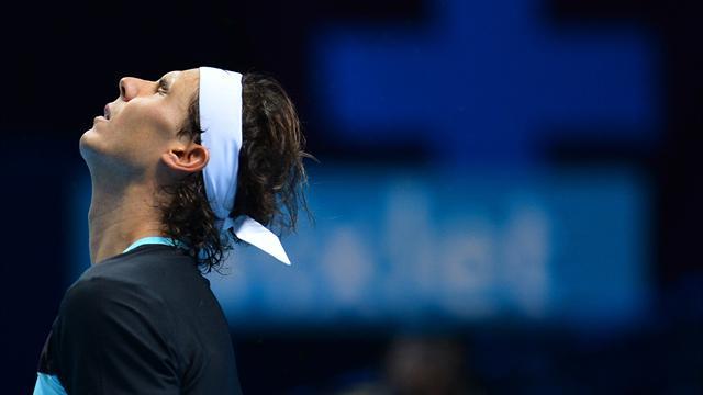 Copa Masters 2015, Rafa Nadal-Novak Djokovic: No hay color (3-6 y 3-6)