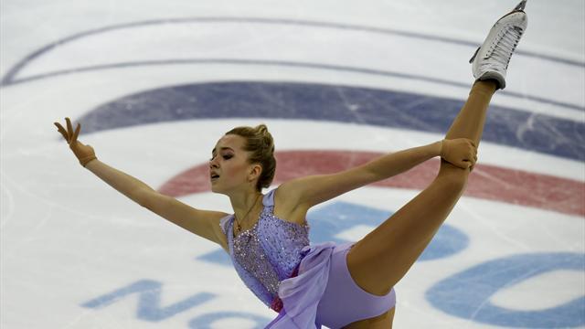 Россиянки заняли все призовые места наГран-при в российской столице