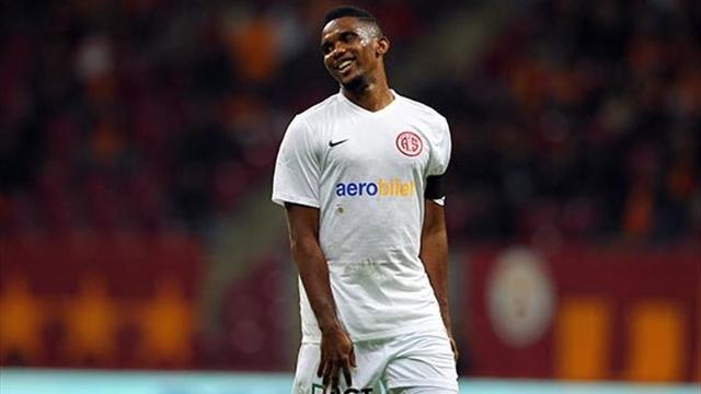 Eto'o est désormais entraîneur-joueur d'Antalyaspor