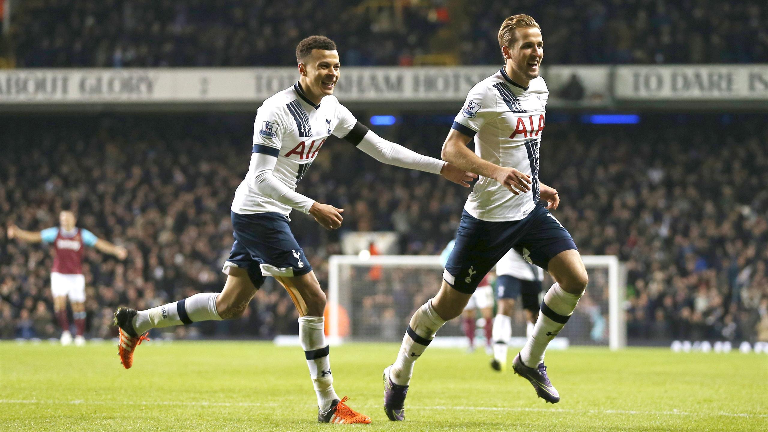 Dele Alli Harry Kane Headline Pfa Young Player Of The Year Shortlist Eurosport