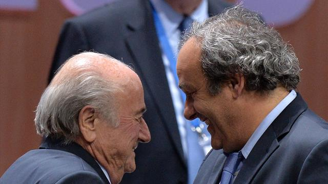 "Blatter : ""Je ne crois plus qu'on soit ennemis avec Platini"""