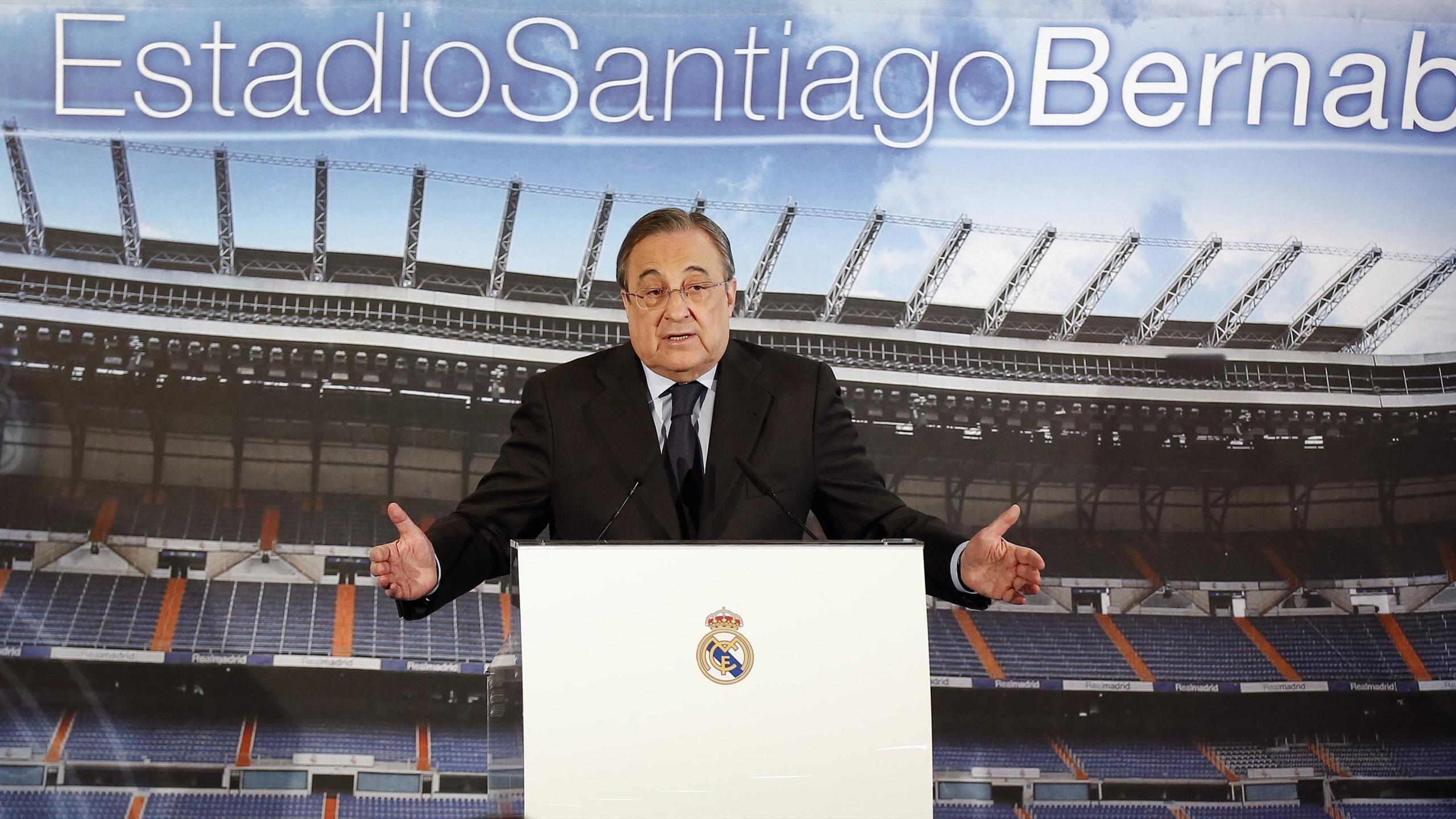 Florentino Pérez, président du Real Madrid