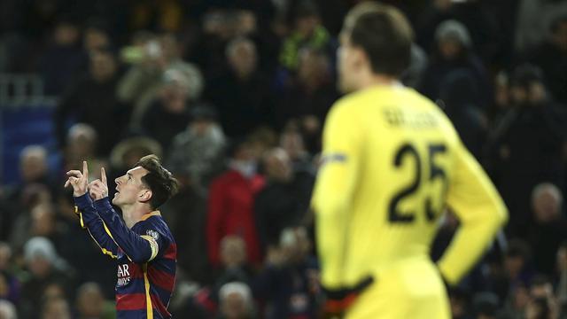 Messi realizó el mejor gol de la temporada en Europa