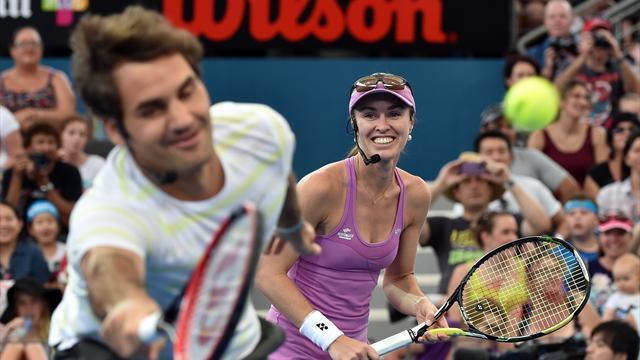 Voulant jouer le double mixte à Rio, Hingis attend une réponse de Federer