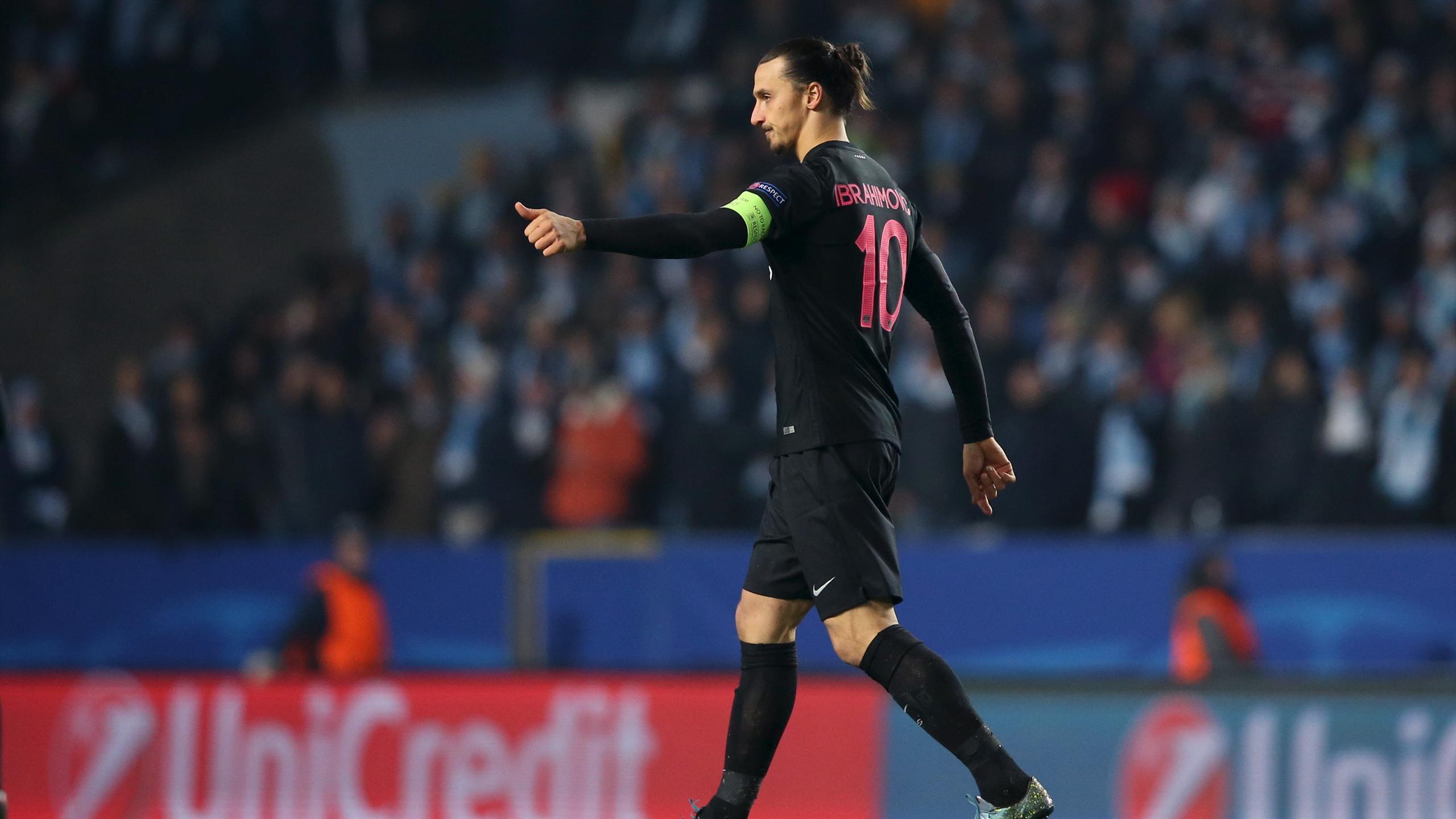 With Star Psg Zlatan Home Qualify Nets Five Ibrahimovic As Return On nHHv80