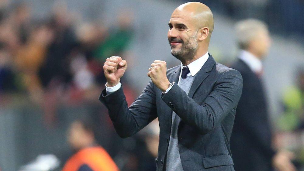 Jubelt Pep Guardiola auch in der kommenden Saison beim FC Bayern?