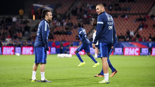 Il n'y aura pas de confrontation Benzema-Valbuena