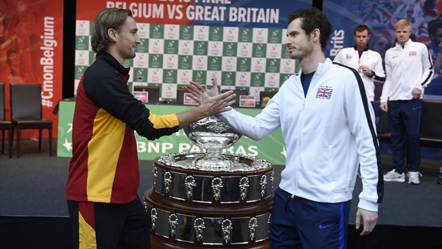 Murray fait le boulot, la Grande-Bretagne égalise