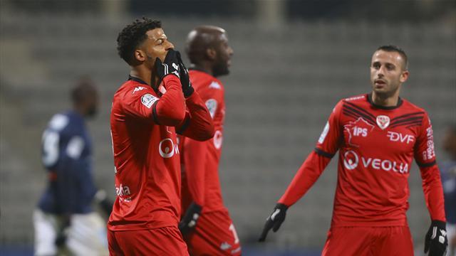 Dijon conforte sa place de leader, Le Havre se rapproche du podium