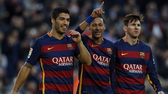 Messi, Suarez, Neymar the best attacking trio in history, says Luis Enrique