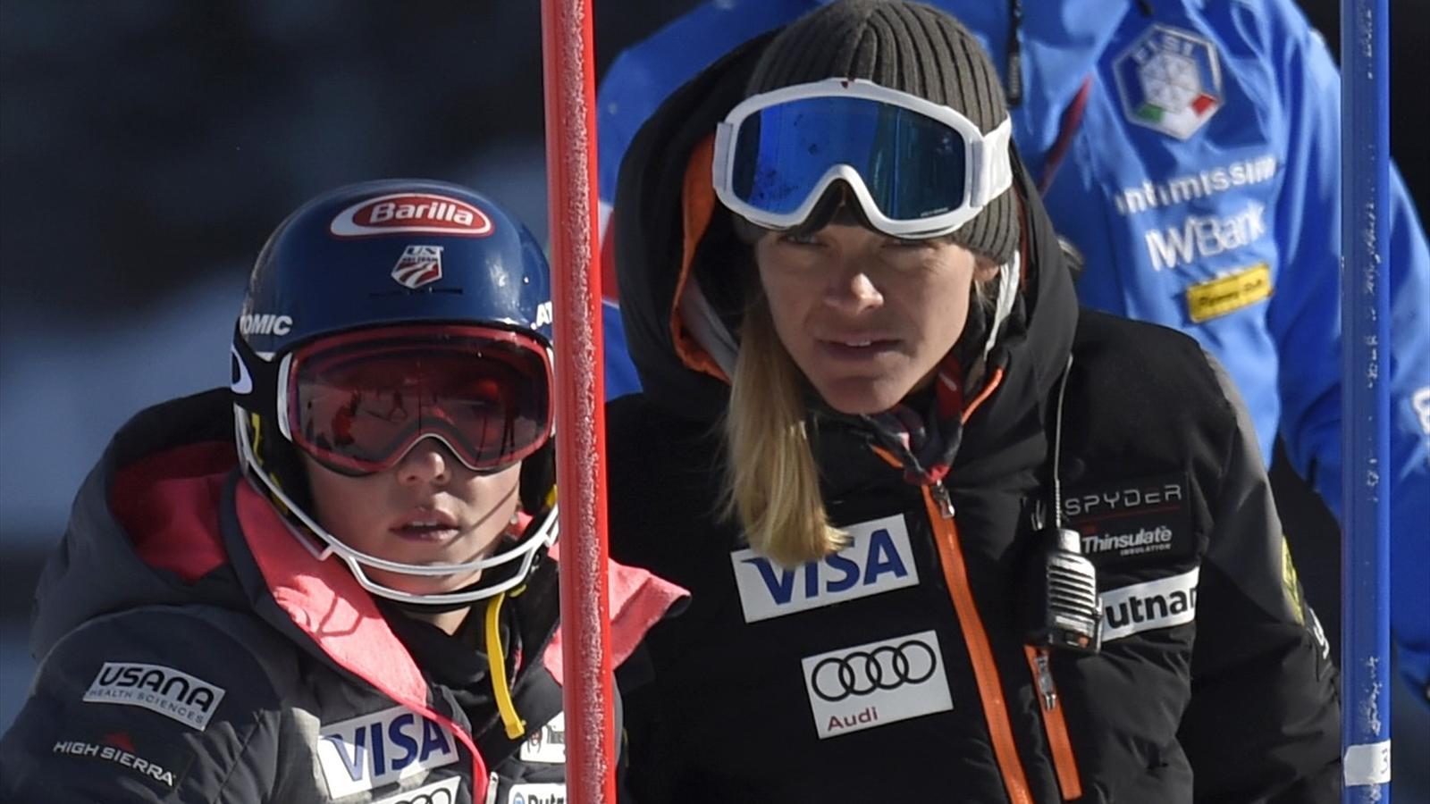 Coupe du monde are tomb e l 39 entra nement shiffrin - Coupe du monde ski alpin 2015 calendrier ...