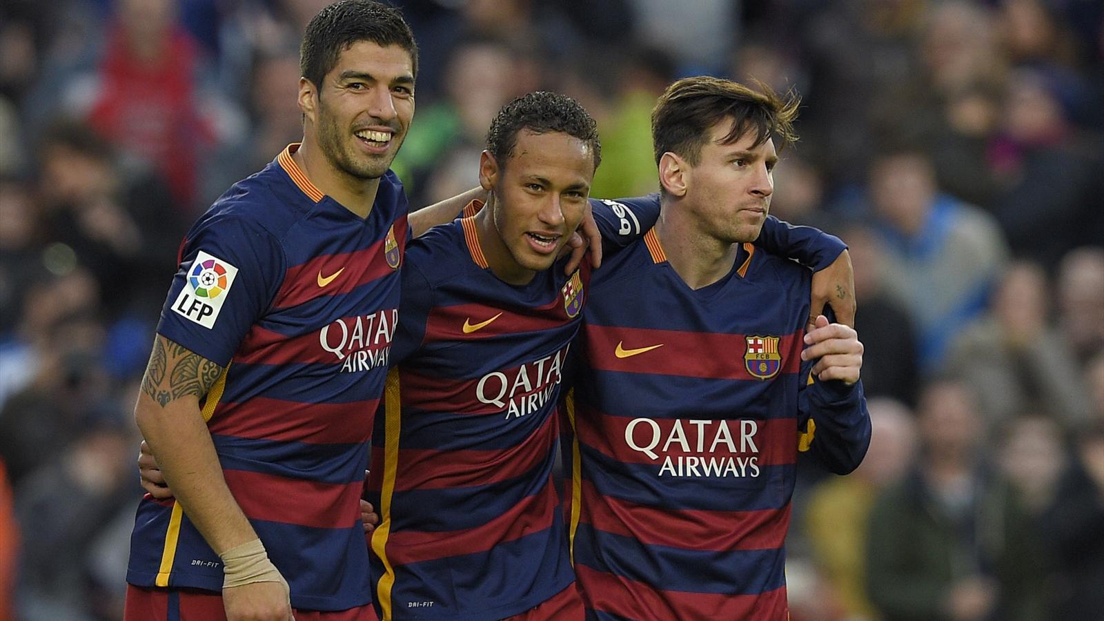 Все 137 голов игроков «Барселоны» Лионеля Месси, Неймара и Луиса Суареса в 2015 году в одном видео