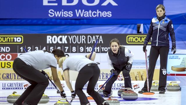 Scotland women settle for Euro curling silver