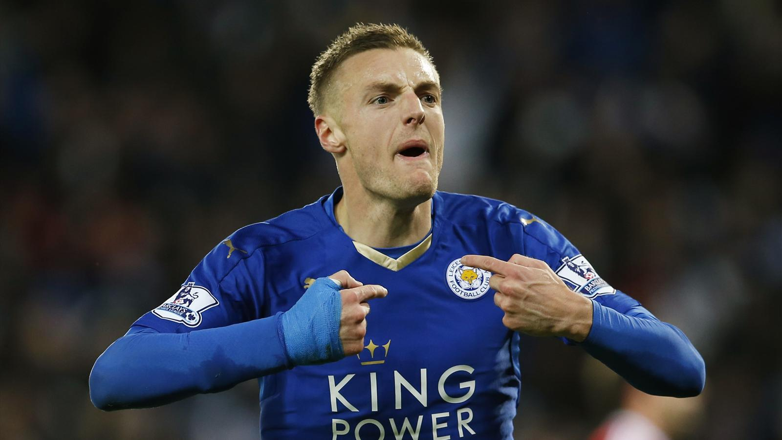 Leicester City s Jamie Vardy and the other great scoring streaks
