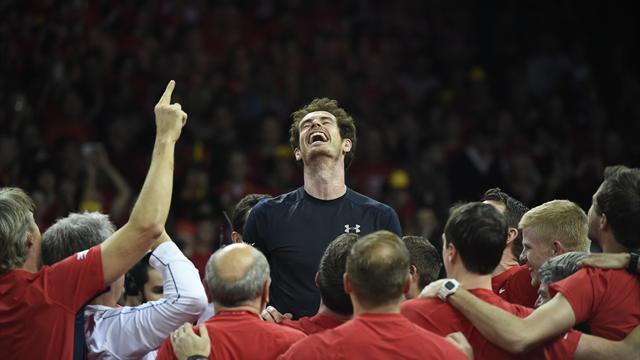 79 ans d'attente et un immense bonheur : Murray offre la Coupe Davis à la Grande-Bretagne