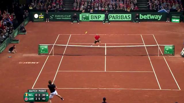 Une balle de match dingue : Murray a conclu la finale de la plus belle des manières