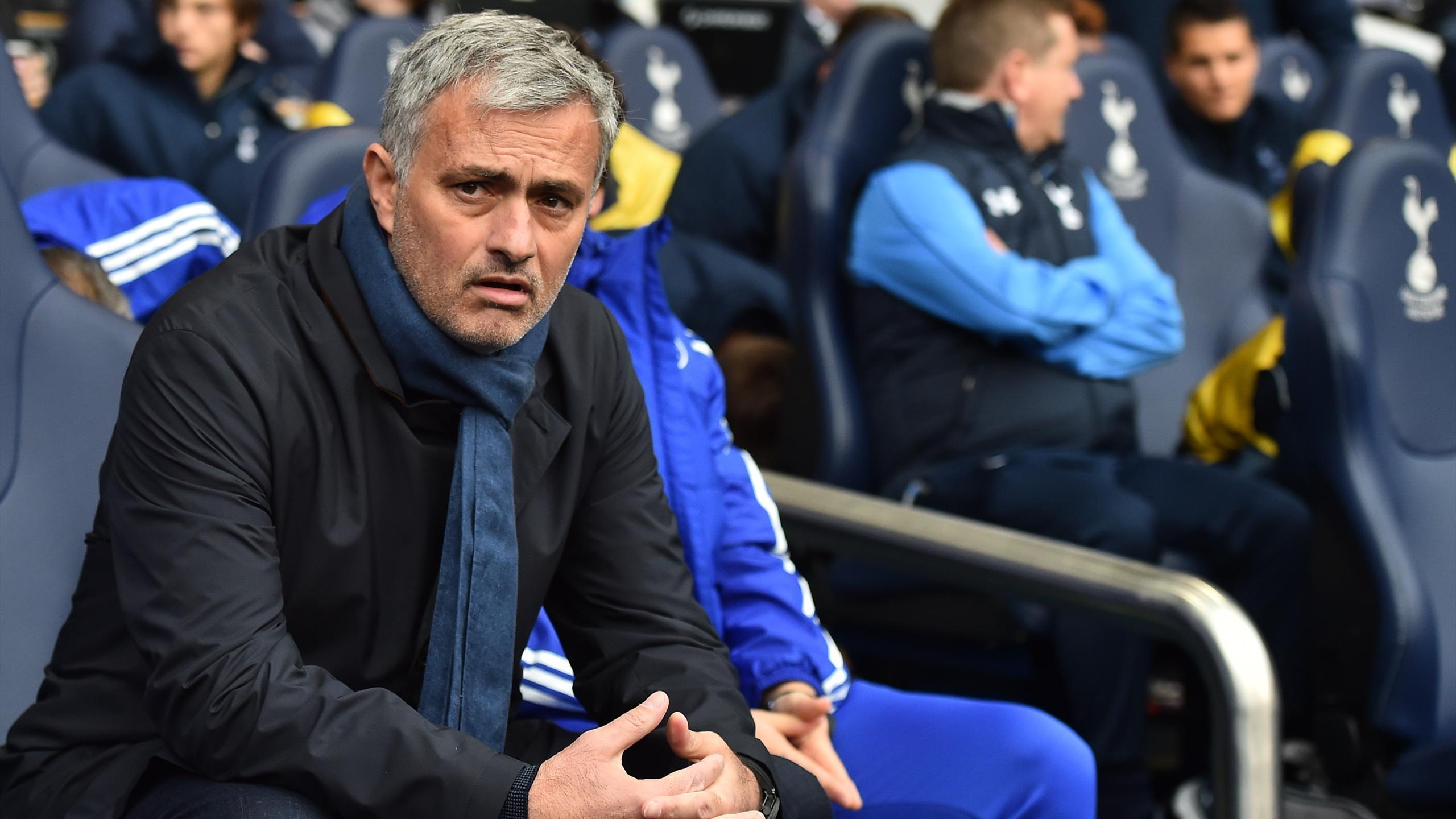 José Mourinho avant Tottenham-Chelsea