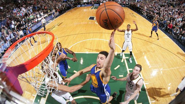 Golden State chahut�, Durant avocat de Bryant : ce qu'il faut retenir de la nuit NBA