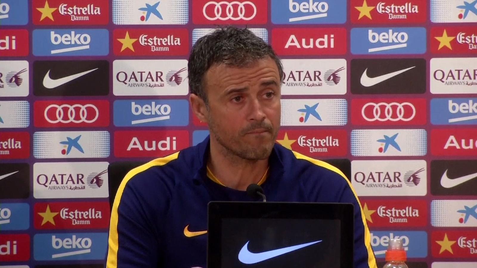 إنريكي: أنا لست العميل السري جايفر وسأنتظر اعادة مباراة برشلونة وفالنسيا