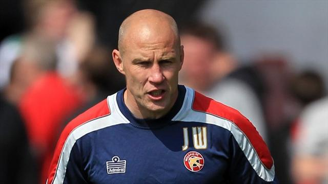 Whitney takes charge at Walsall following O'Driscoll's departure