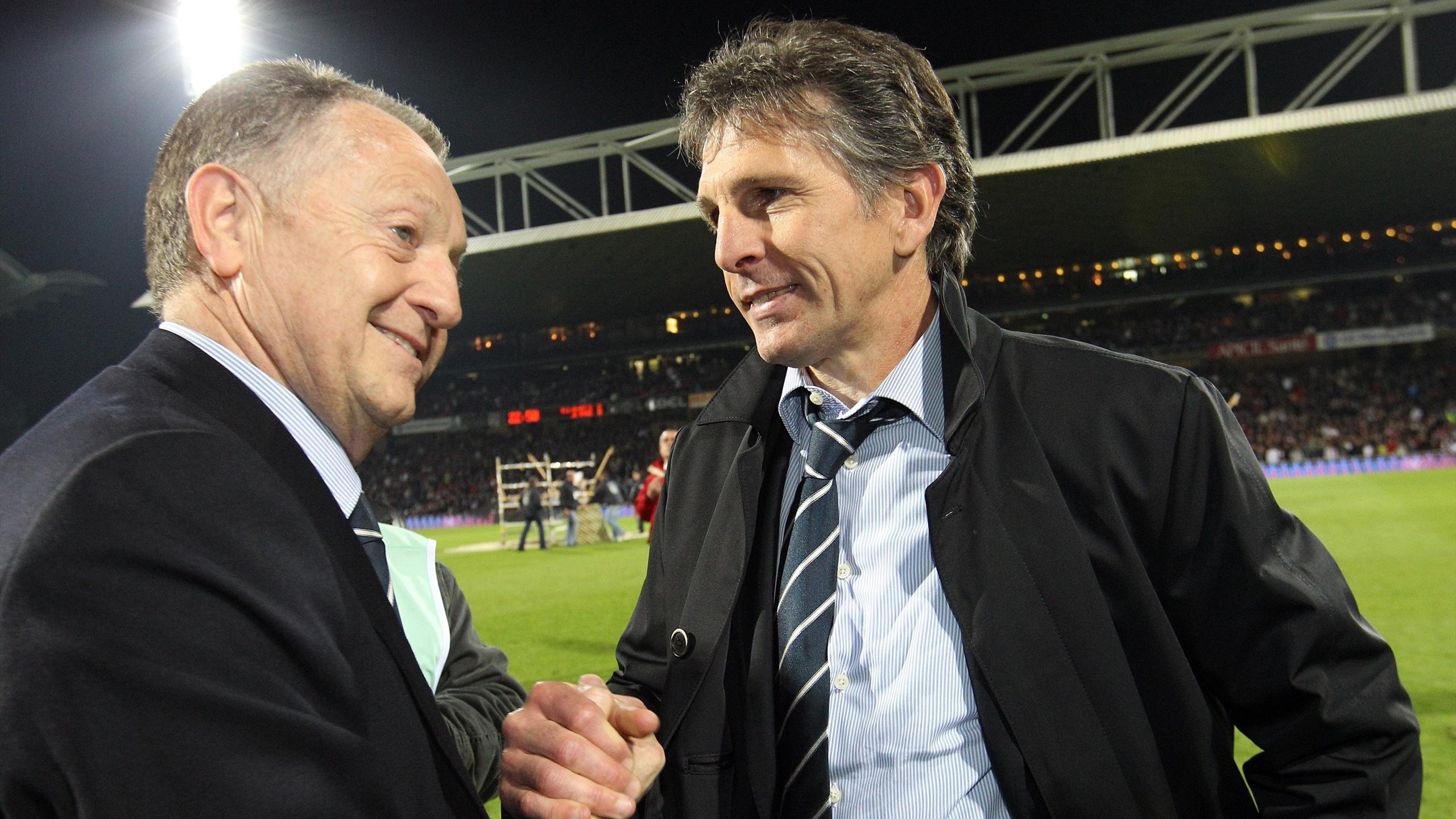 Jean-Michel Aulas a longtemps soutenu Claude Puel à Lyon