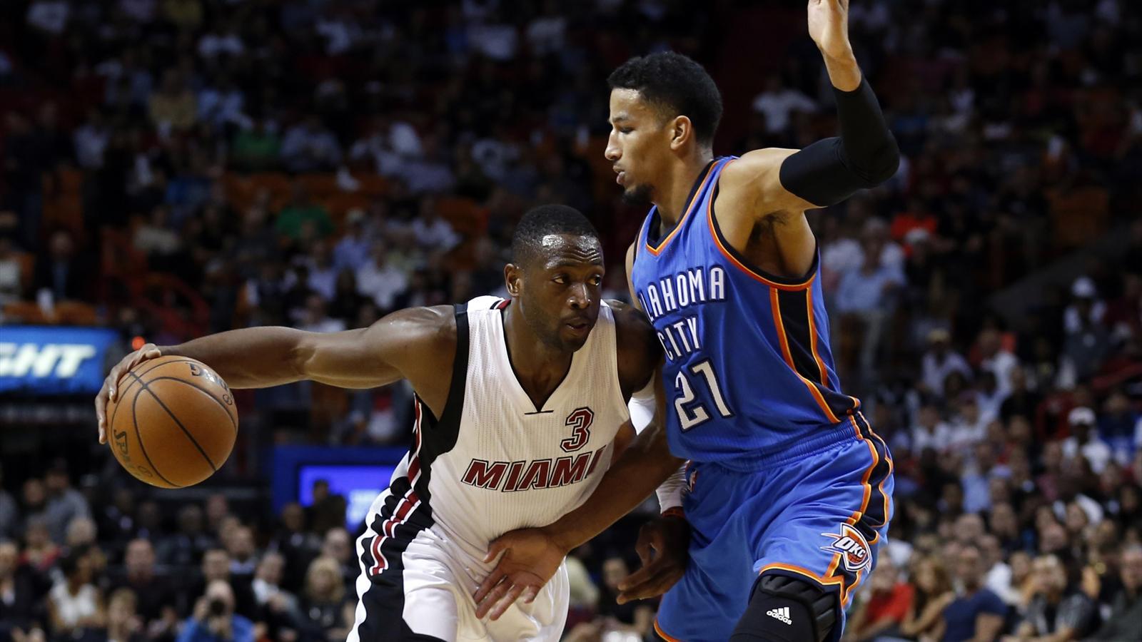 Dwyane Wade of the Miami Heat