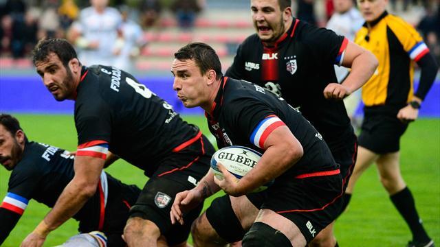 Toulouse: Picamoles titulaire face au Stade français