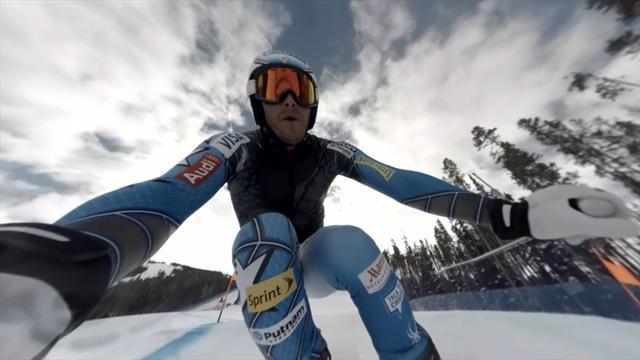 Notre incroyable vidéo de ski à 360° : Bode Miller descend la Birds of Prey de Beaver Creek