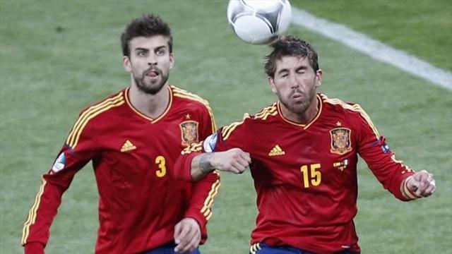 """Garcia : """"Piqué est essentiel pour le vestiaire de la Roja"""""""