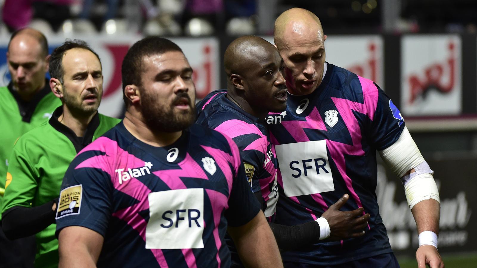 Sergio Parisse (Stade français) - 5 décembre 2015