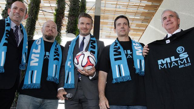 Beckham tient enfin son terrain pour son stade à Miami