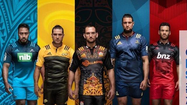 Les cinq franchises néo-zélandaises ont dévoilé leurs nouveaux maillots